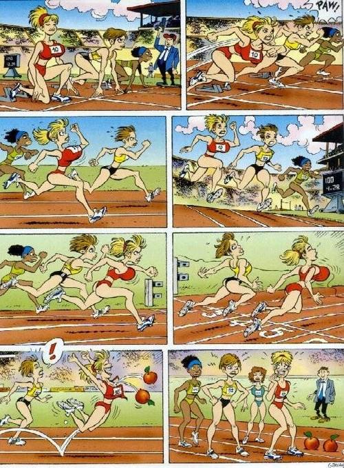 Track Comic