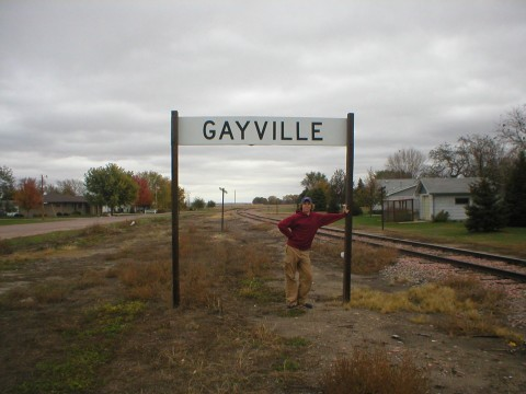 Gayville, population... 1