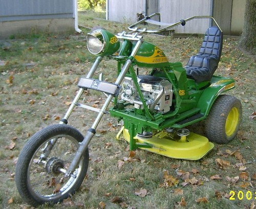 badass lawnmower