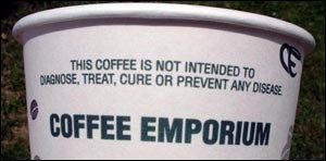 coffee is not medicine