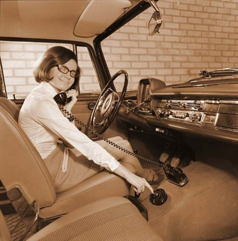 Old school car phone