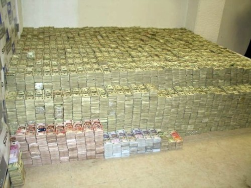 Big pile of money