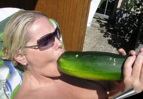 Huge Cucumber Deepthroat