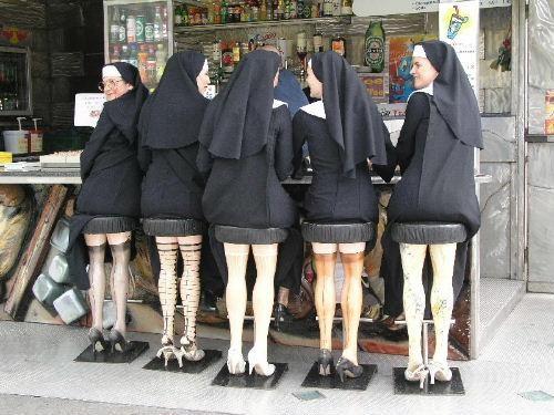 Hot Leg Nuns